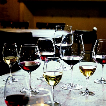 vino in degustazione