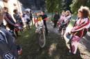 Le donne che hanno popolato il Parco di San Michele a Greve in Chianti, vicino a Firenze, non amano solo le curve sull'asfalto.