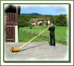 Il caratteristico strumento tirolese