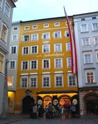 La casa natale di Mozart a Salisburgo