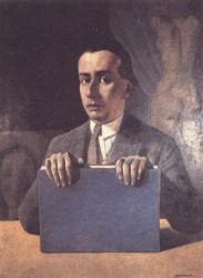 Il ritratto di Casella dipinto da Casorati