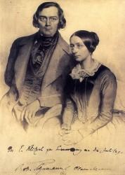 La coppia di musicisti romantici