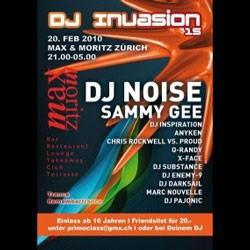 dj invasion 15 Zurigo