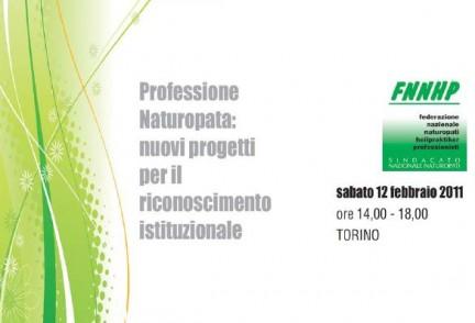 convegno professione naturopata: nuovi progetti per il riconoscimento istituzionale
