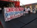 Ancona: Bloccata la Nave dei Rimpatri e il corteo di manifestanti entra nella zona rossa