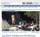 Berlusconi: El Pais pubblica le Foto di Villa Certosa con ragazze in topless e uomini nudi