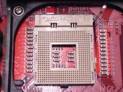 Socket mPGA478B