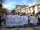 Le proteste contro la Gelmini