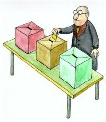 il voto nel circolo