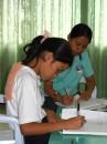 i bambini sordomuti della missione italiana di Cebu di Padre Savino e Suor Gilia