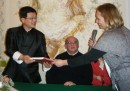 Ambasciatore di Taiwan e Francesca Piccolo