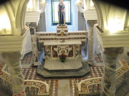 Restauro  della Chiesa di Sant'Antonino Sorrento