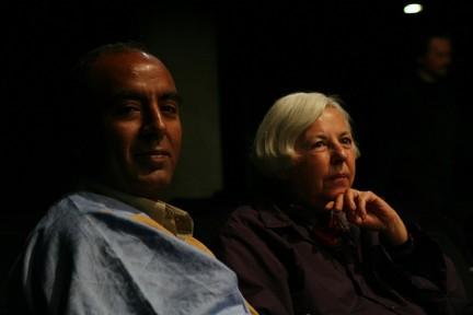 Abdeslam Omar Lehsen e Fabrizia Ramondino