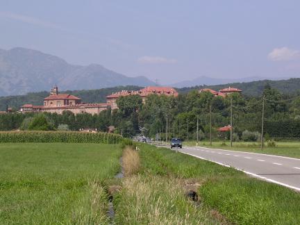 Il castello e il borgo di Agliè