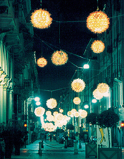 Dal 3 novembre al 10 dicembre Torino si illumina di luci d'artista