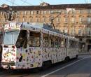 Tram ristorante a Torino
