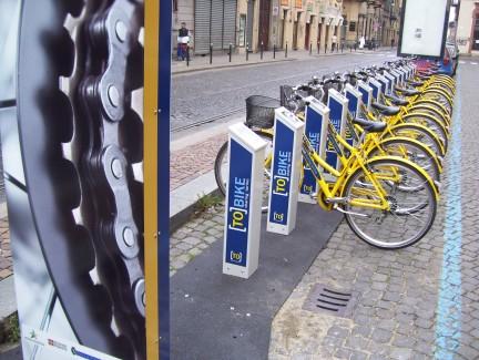 Bike sharing a Torino