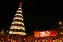 Luci di Natale a San Paolo