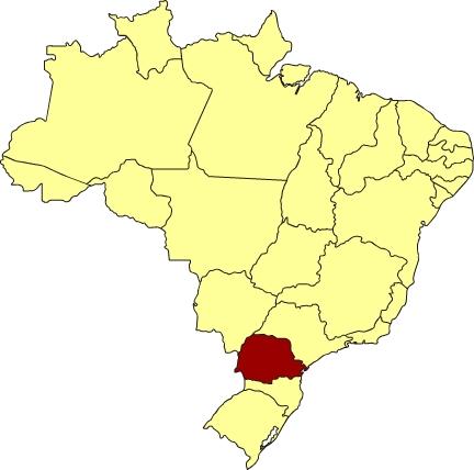 Stato del Parana - Brasile