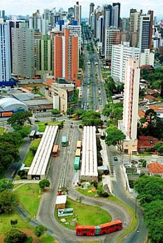 trasporti curitiba parana brasile