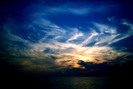 Allontana le nuvole dei tuoi pensieri