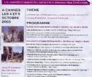 Vari momenti del corso di Ipnosi e Comunicazione Ericksoniana del 2007