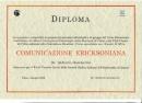 Diploma in Comunicazione Ericksoniana rilasciato ai non medici