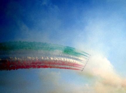 dalle frecce tricolori uno stimolo per superare i propri limiti: la paura di volare