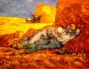 Van Gogh Psicoterapia degli stupidi inutili che credono di canbiare o di fermare il mondo solo col rosso colore