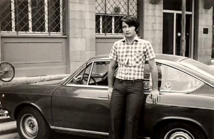 Fiat 850 coupè Era a Gemona del Friuli il 6 maggio 1976