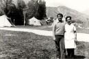 Friuli Terremoto 1976 Campo profughi di Oncedis Alesso di Trasaghis