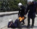 Scontri con la Polizia ed attentati incendiari