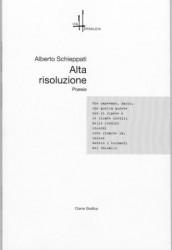 la copertina del libro di poesie di Alberto Schieppati
