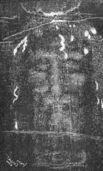 Il volto impresso nella sindone