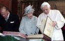 Benedetto XVI incontra la Regina Elisabetta II