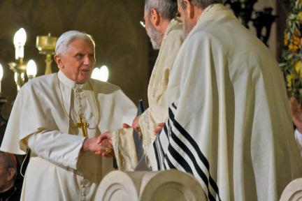 Visita Benedetto XVI alla Sinagoga di Roma