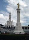 La piazza del Santuario oggi
