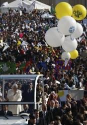 Il Papa e i bambini dell'AC