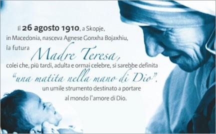 Centenario della nascita di Madre Teresa