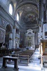 Interno Chiesa Santa Lucia del Gonfalone