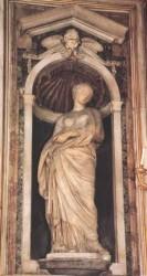 Scultura di Santa Susanna opera di Francois Duquesnoy