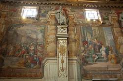 Affreschi interno Chiesa Santa Susanna