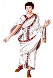 Abito maschile antica Roma