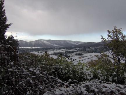 Neve ai Castelli Romani