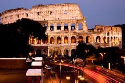 Il Colosseo in Roma