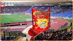 Bandiere giallorosse