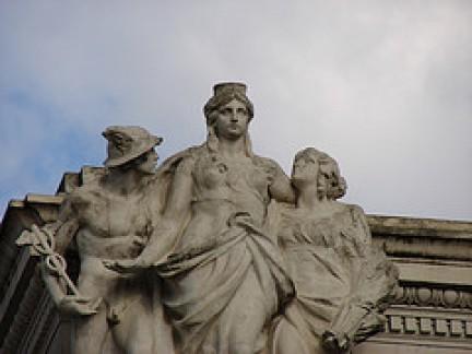 Sculure nella Galleria Colonna