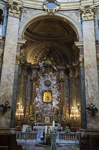 Altare Maggiore Santa Maria di Loreto