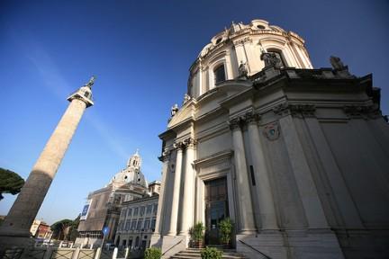 Facciata Santa Maria di Loreto