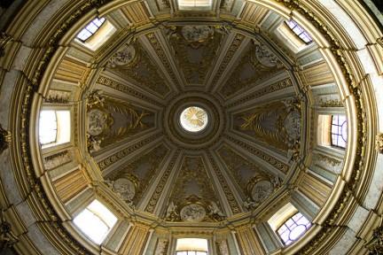Interno cupola di Santa Maria di Loreto